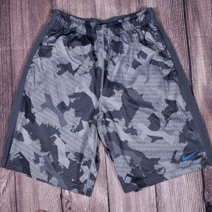 Nike Dri-Fit Urban Camouflage Athletic Shorts, Med